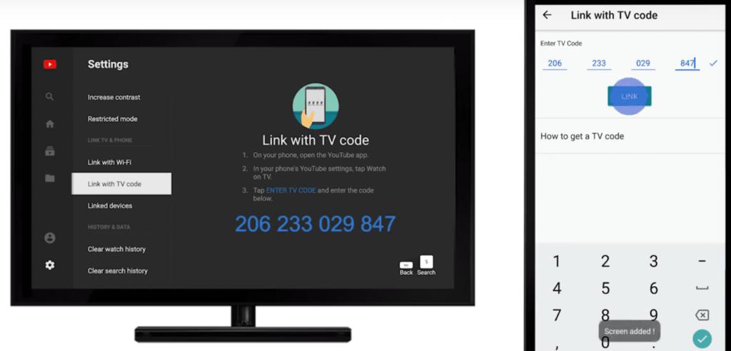 Как получить код на телевизорах со Smart TV